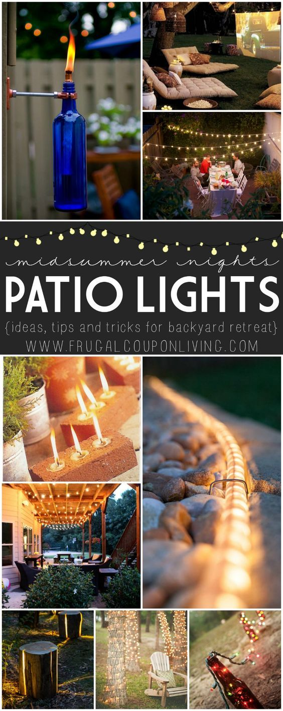 Midsummer Night Patio Ideas On Frugal Coupon Living. Looking For A Night  Patio Escape?