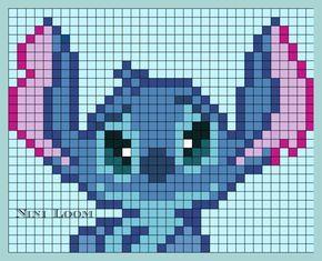 Stitch Perler Bead Pattern Dessin Pixel Perle A Repasser