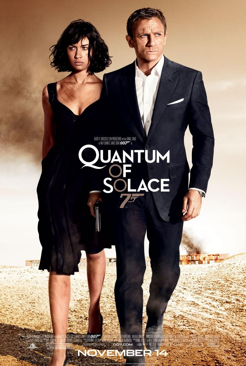 Quantum of Solace- poster
