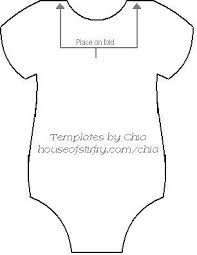 baby onesie template for baby shower invitations