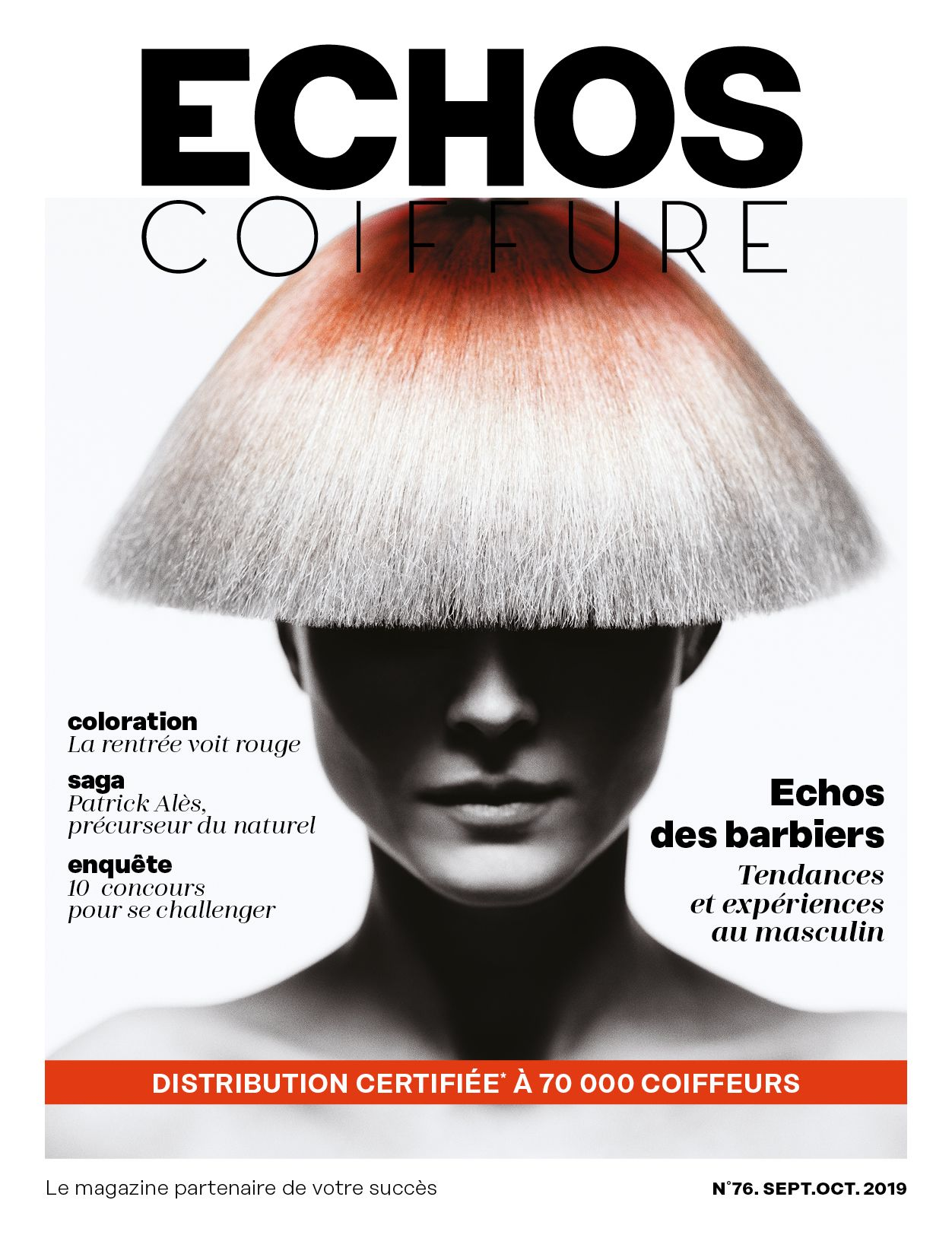 Magazine Echoscoiffure France 76 Photo Nicolas Jurnjack C Nick Norman Coiffeur Coiffure Echo