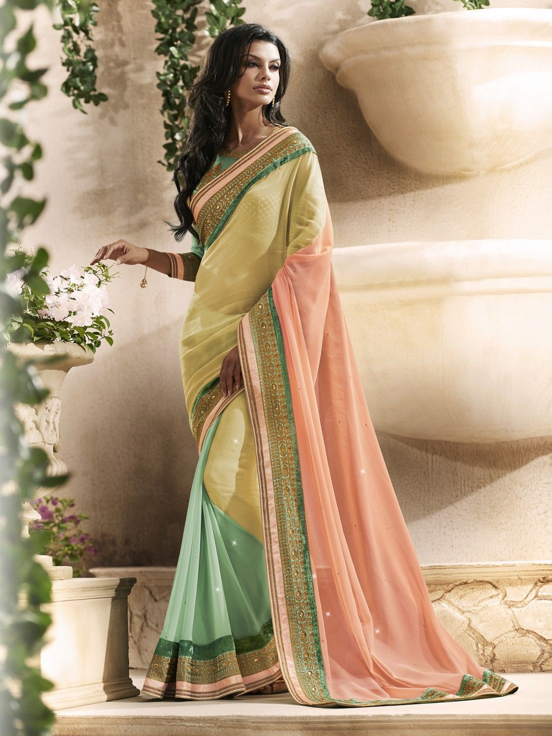 Silk saree lehenga designer lehenga sarees for party and wedding lehengasaree