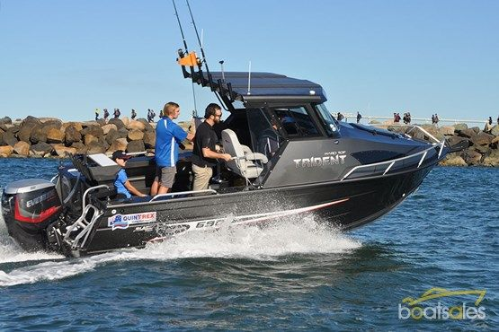 quintrex 690 trident hard top engines boat, trident, fishing boats Boat Dual Battery Wiring Diagram quintrex 690 trident hard top