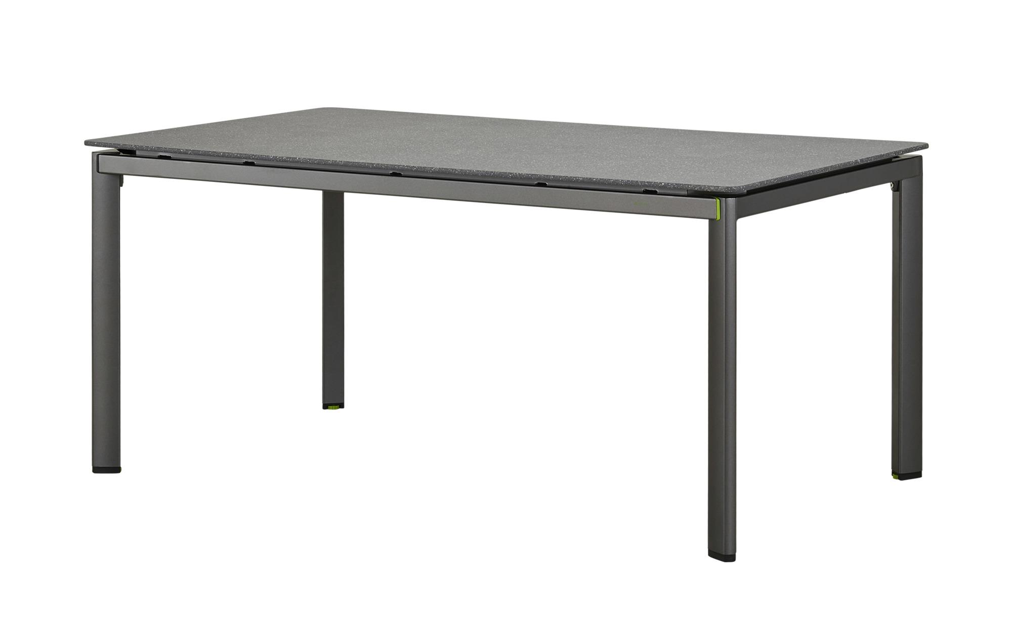 MWH Gartentisch Amico - grau - Materialmix - 95 cm - 74 cm - Höffner ...