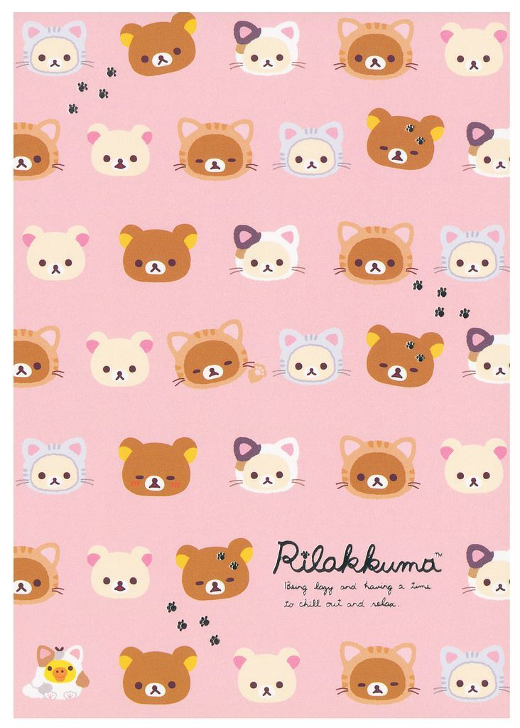 Rilakkuma Wallpaper Iphone Pattern