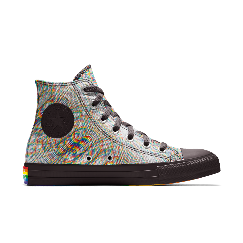 fc32ee91baf2 Converse Custom Chuck Taylor Pride All Star High Top Shoe. Nike.com ...