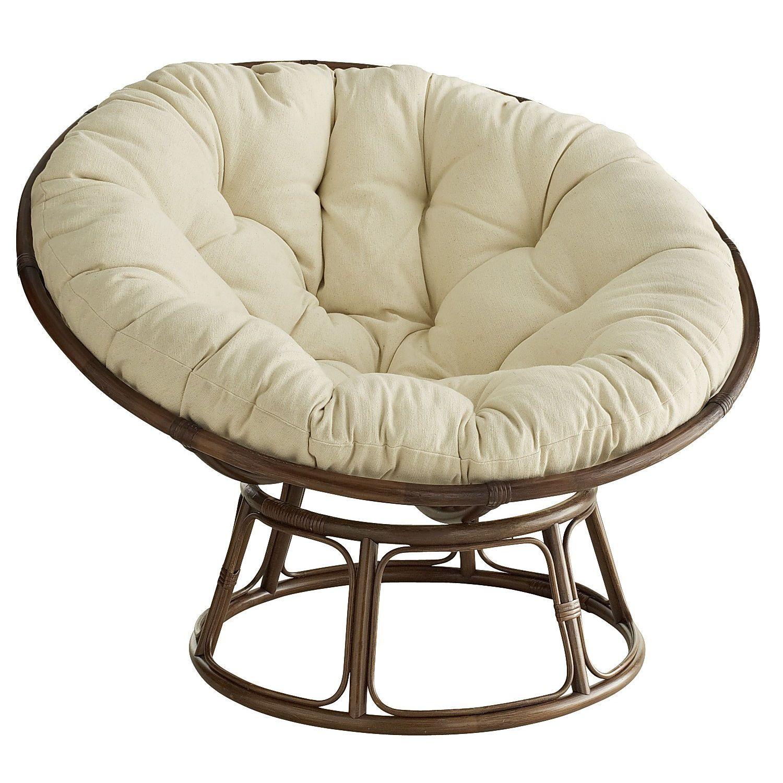 My Papasan Chair W Cream Colored Cushion Would Love To