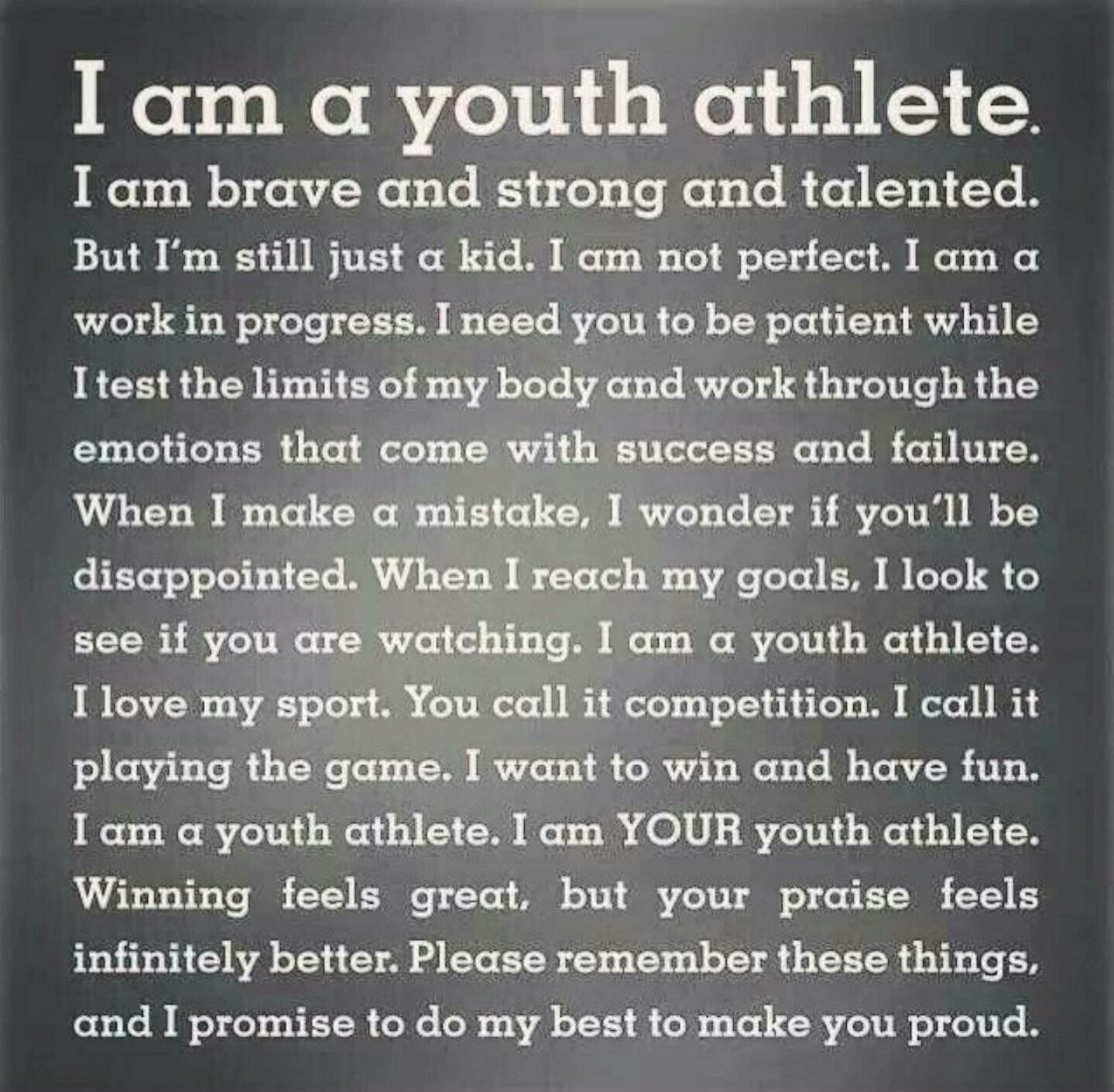 Every young athlete:) | Sages Fooooozeball | Athlete quotes
