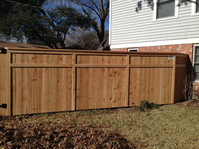 Custom Wood Fencing Austin Round Rock Dripping Springs Bee Cave Wood Fence Fence Decor Privacy Fence Designs