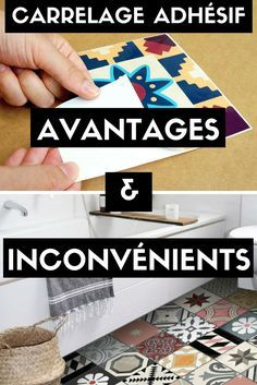 Avantages Inconvenients Du Carrelage Adhesif A Lire Avant D Acheter Carrelage Adhesif Carreaux Adhesifs Peindre Du Carrelage