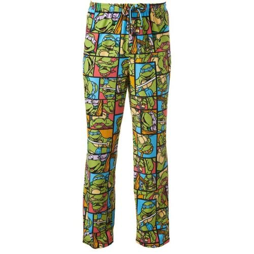 Shop our full line of men's big and tall loungewear, including these Teenage Mutant Ninja Turtles Microfleece Lounge Pants, at Meserti. com.