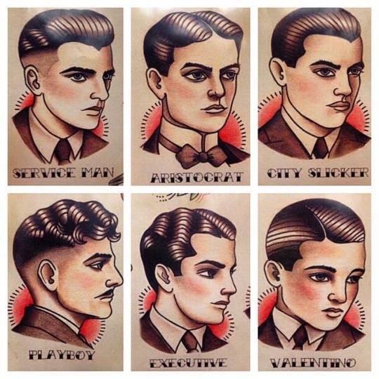 Suavecito Pomade Traditional Tattoo Patterns Traditional Tattoo Gentleman Barber Shop