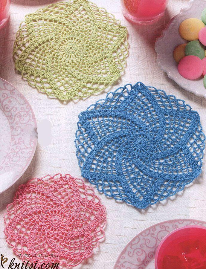 42 quick easy crochet doily pattern crochet lace crochet and 42 quick easy crochet doily pattern dt1010fo