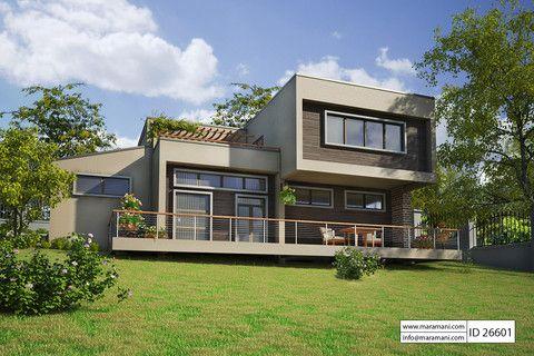 6 Bedroom Modern Luxury House Plan - ID 26601 - House ...