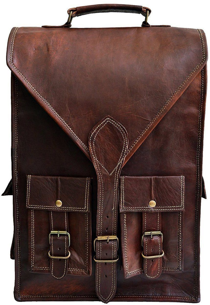445ed2a300a IN-INDIA Hunter Leather Messenger Laptop Regular Satchel Bag - 11.6 Inches  ( Laptop)