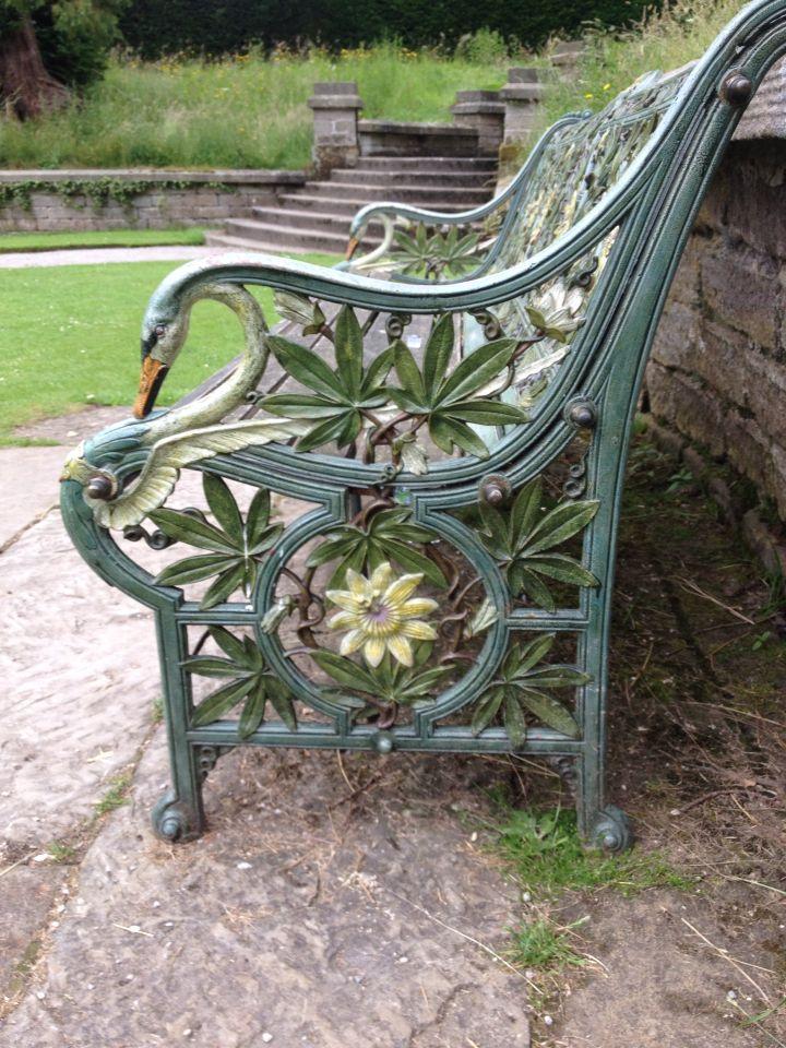 Garden bench , Chatsworth , England | sillas para parque | Pinterest ...