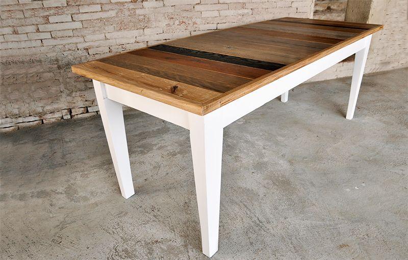 Interior design recupero tavolo realizzato su misura con struttura ...