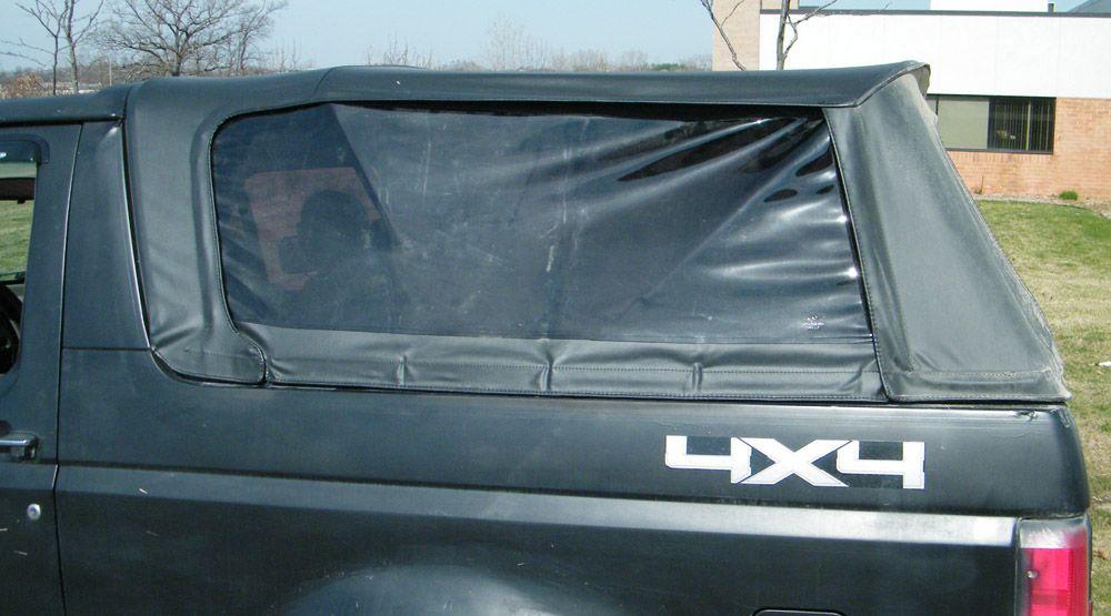 Fasttrac Soft Top Black Complete Broncograveyard Com Ford Bronco Soft Tops Bronco