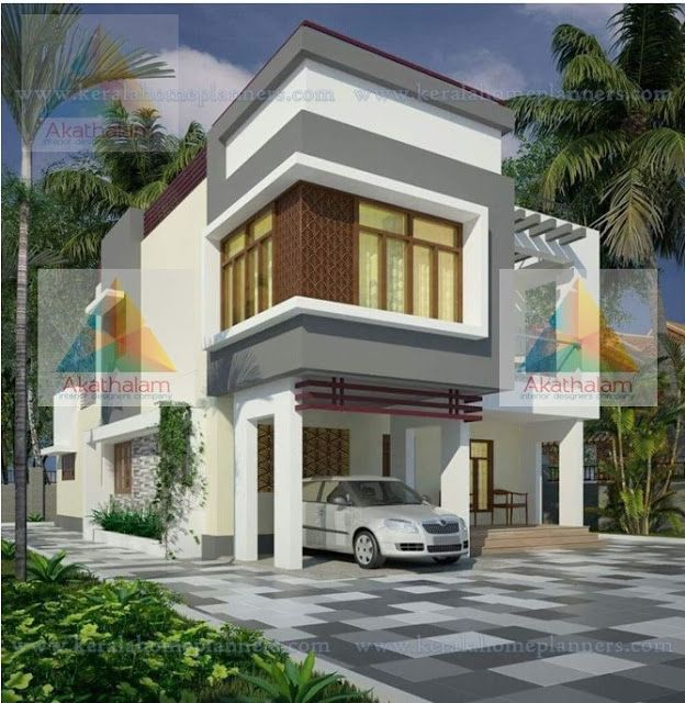 Latest Model Contemporary Home Design with Elevation and Free Plan ...
