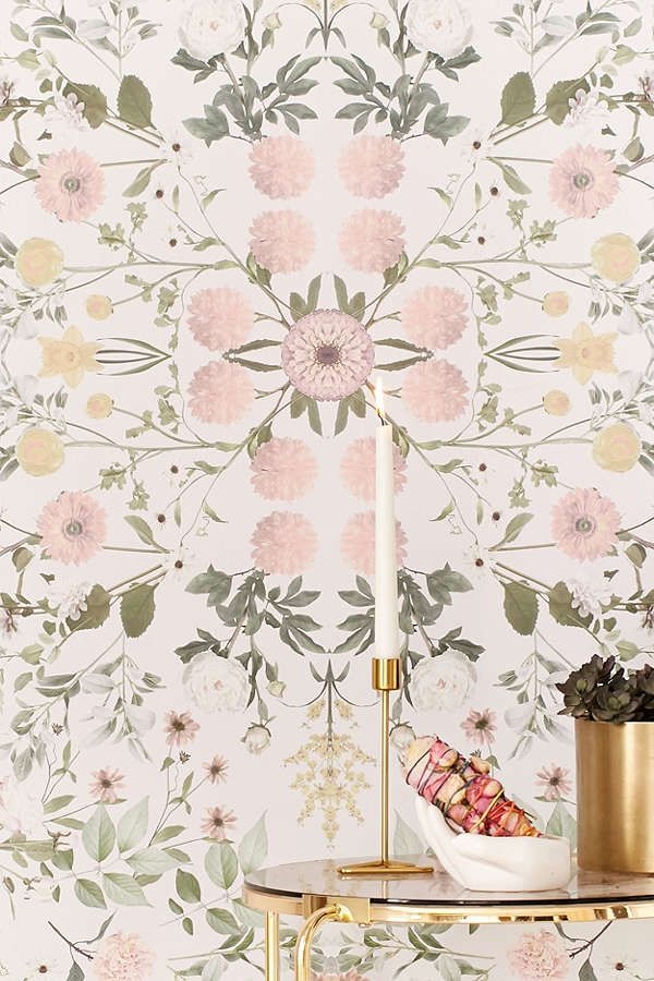 Daniella Floral Removable Wallpaper. My RoomDorm ... Part 77