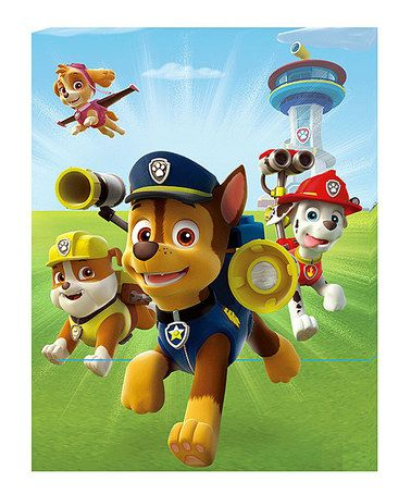 Look What I Found On Zulily Paw Patrol Group Led Canvas