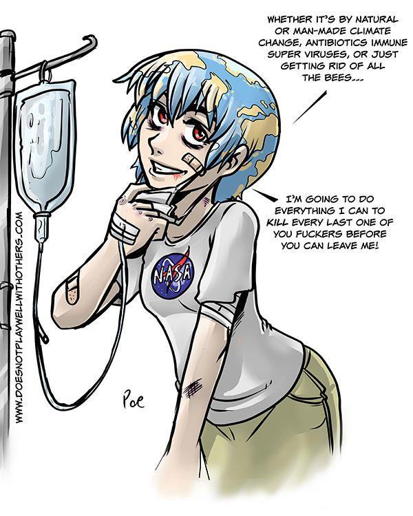 3df9e7875ce154fd8ba78813d76d4d51 yandere earth chan meme, earth and anime