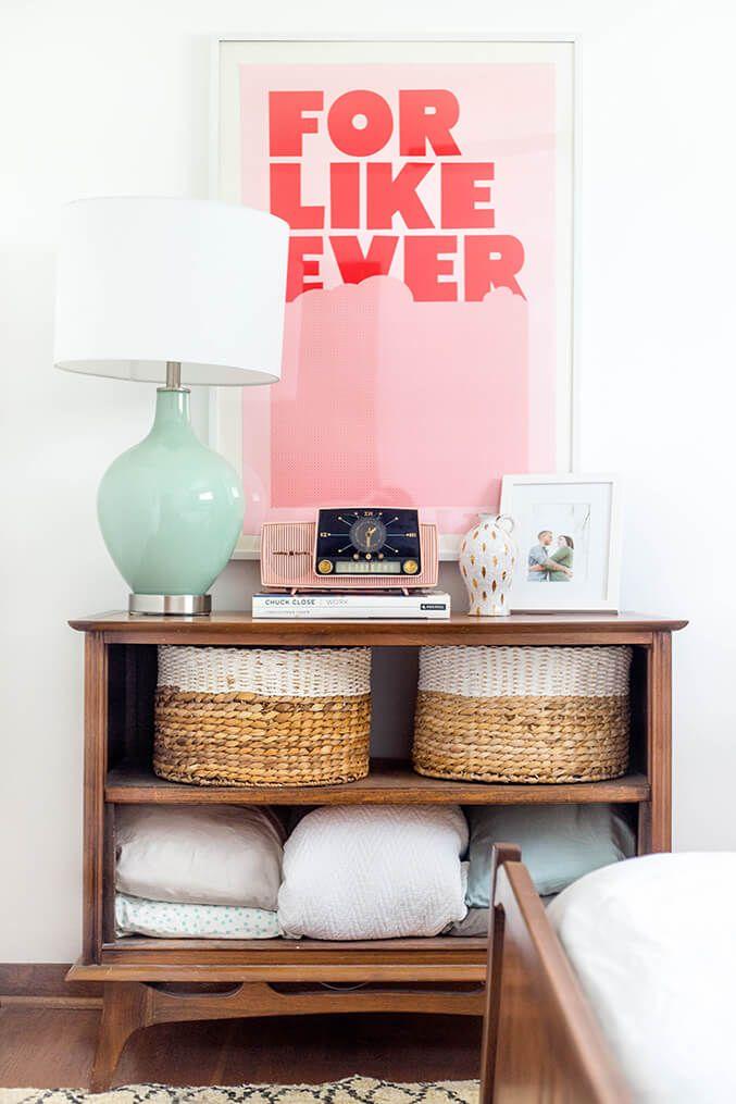 Vintage Pink Clock Radio   dreamgreendiy   Dream House   Pinterest ...