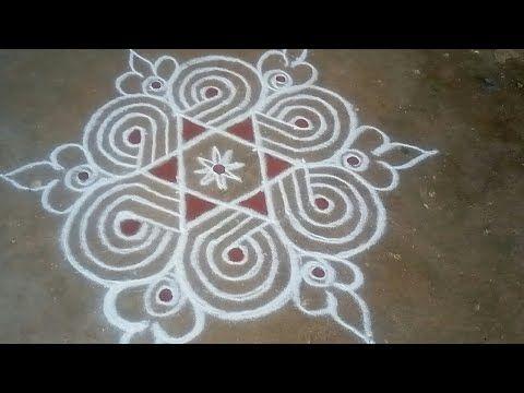 Vinayagar sathurthi special //🌟 star Kolam// easy