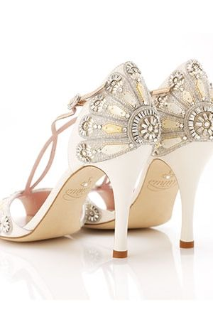 Emmy Shoes At Kleinfeld Bridal Oh Em Gee If Money Was No Object These Would Be Great For A Gatsby 1920 Wedding Goodness I Love It