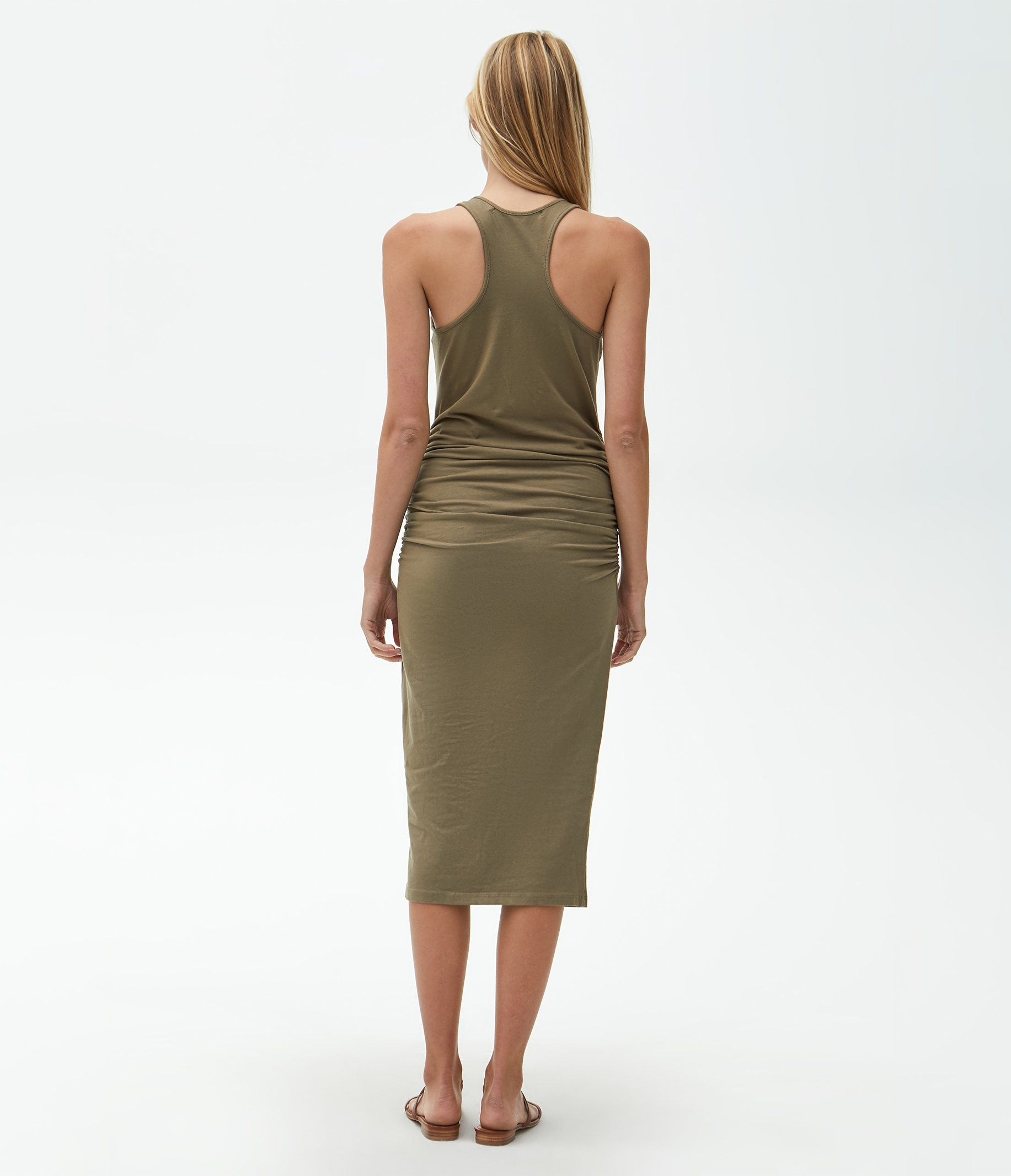 Racerback Midi Dress In 2020 Racerback Midi Dress Midi Dress Midi Dress Style [ 2133 x 1833 Pixel ]