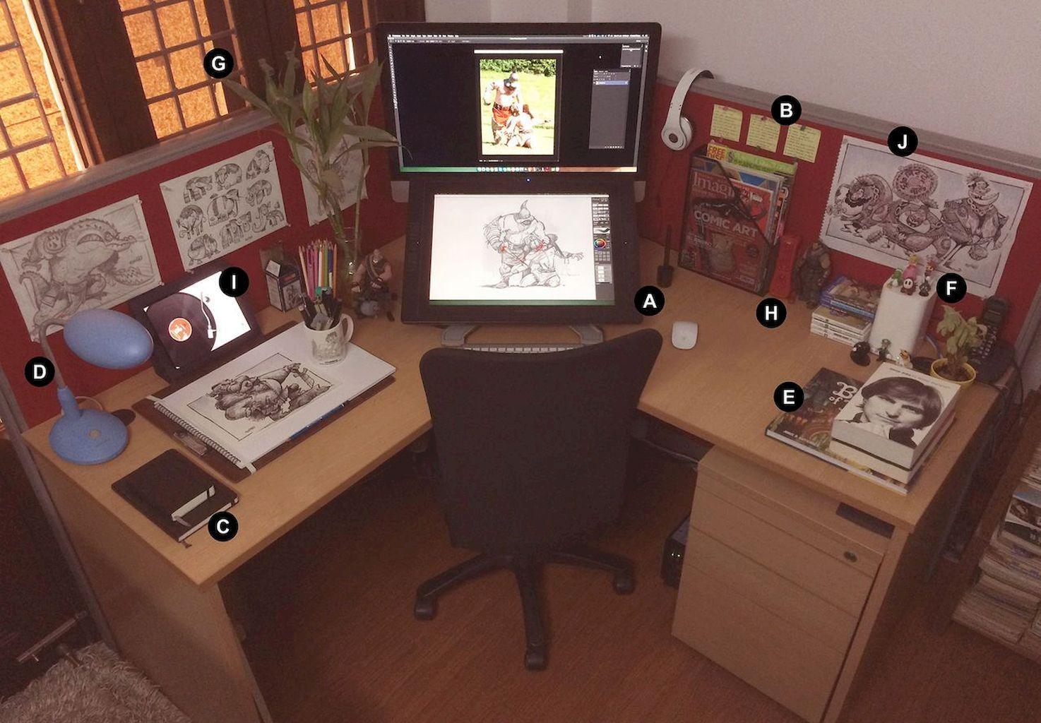 Arts Crafts Sewing Drawing Desk Art Desk Desk