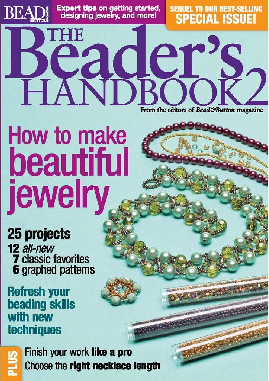 Bead Button The Beaders Handbook 2 | beading | Pinterest | Beads ...