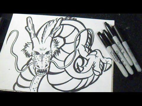 Comment dessiner dragon shenron dragon ball z - Dessiner dragon ball z ...