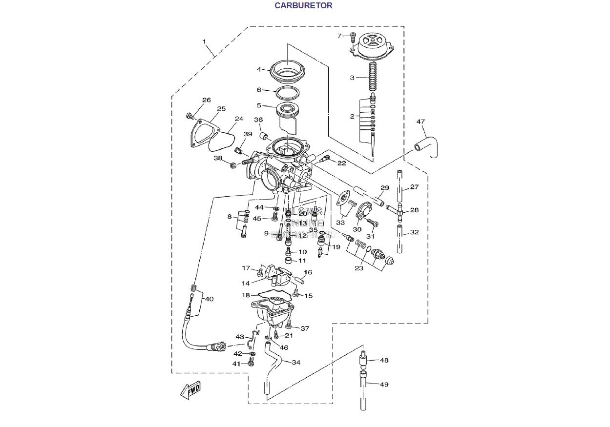3dfa3082287a96048cbf5498752e8b1f carburetor atv quad grizzly 660 pinterest atv 2006 yamaha grizzly 660 wiring diagram at creativeand.co