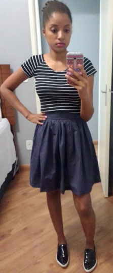 Juliana's Clemence skirt - sewing pattern in Love at First Stitch