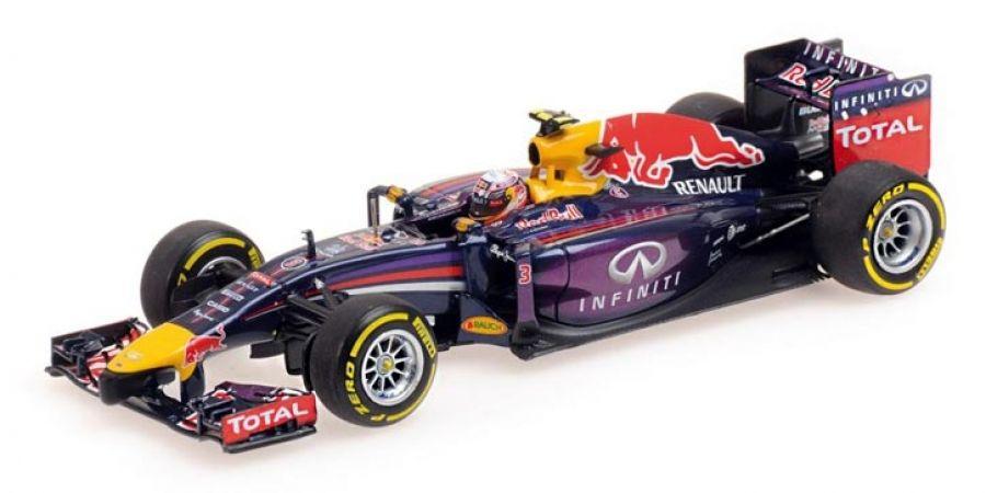 Daniel Ricciardo Red Bull Racing RB10 Minichamps 2014- DM4821