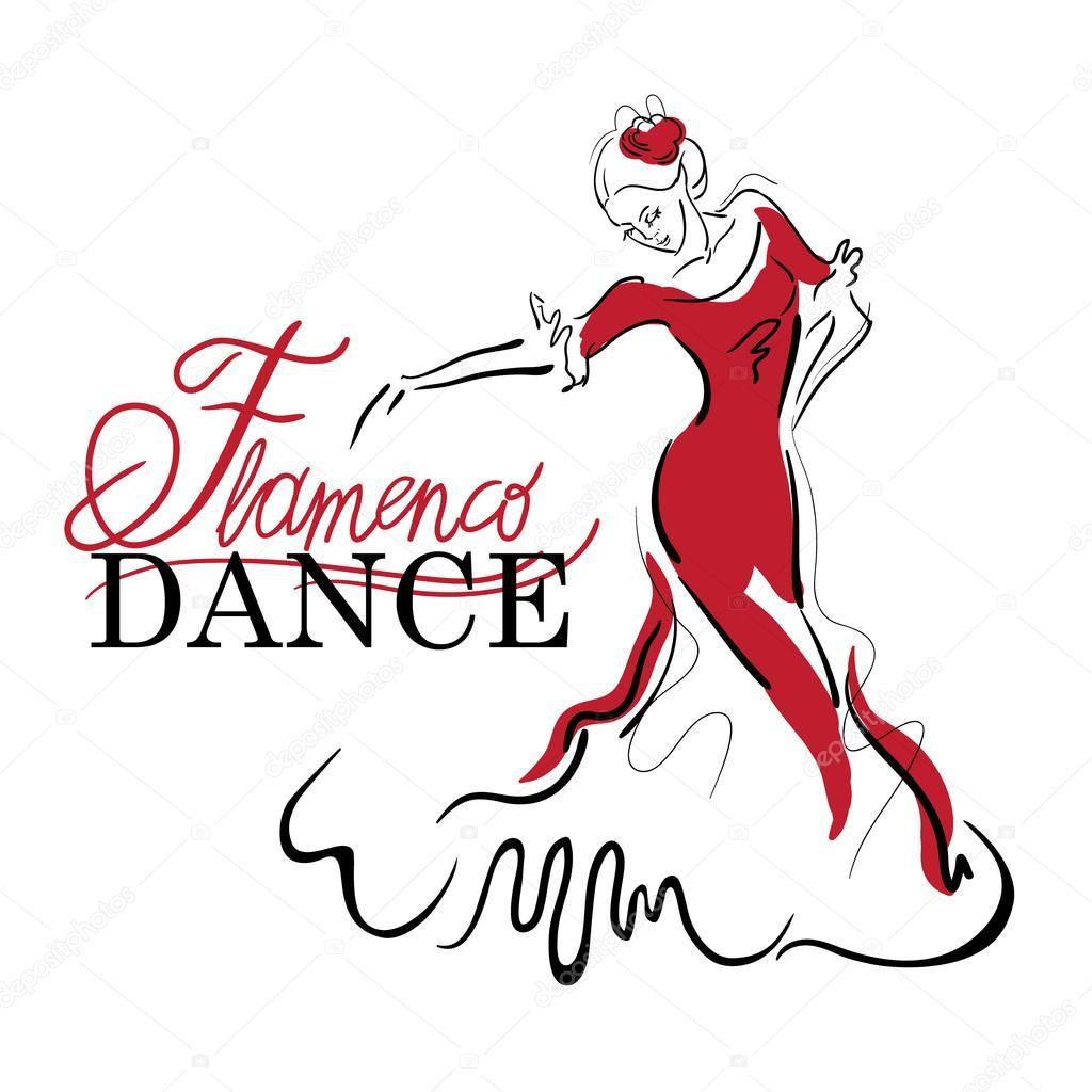 Descargar Bocetos De Vector De Baile Flamenco Ilustración De Stock 81529204 Bailarines De Flamenco Tatuajes De Baile Flamenco Dibujo