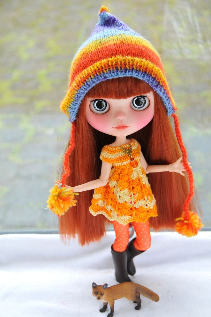 Luna custom Blythe