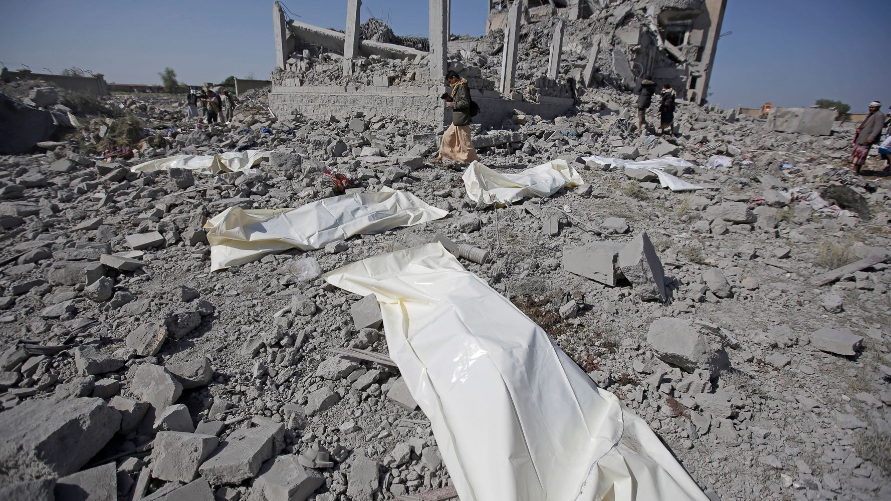 SaudiLed Airstrikes On Yemen Prison Kill At Least 100