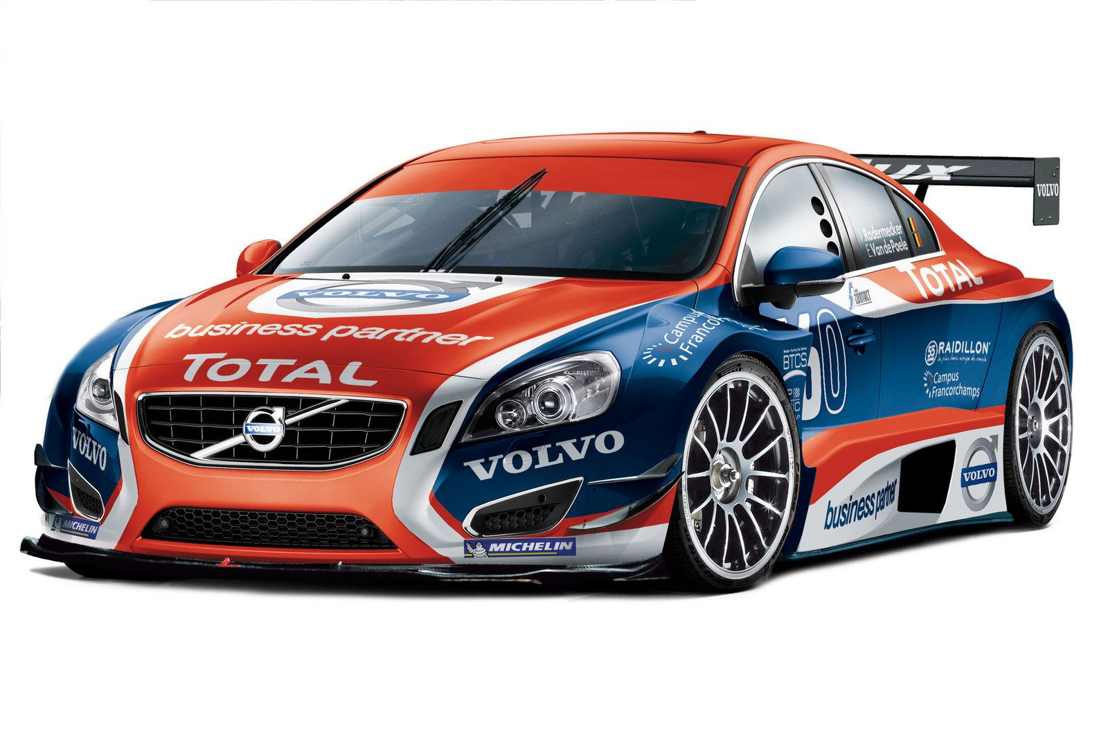Image Detail For Volvo Race Car Euro Car Wraps
