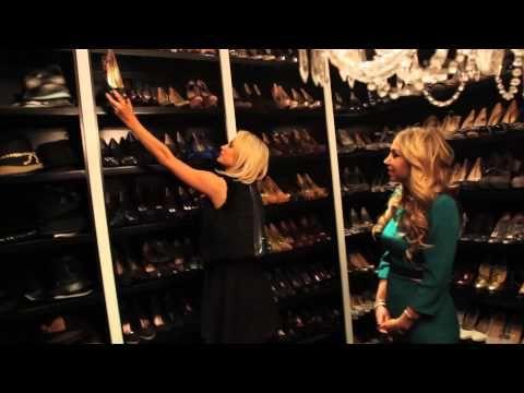 Inside Paris Hilton S Shoe Closet