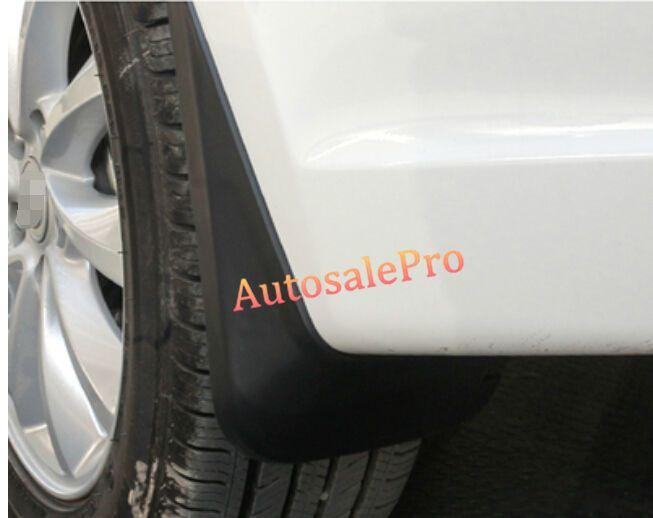 Black Front Rear Door Mud Flaps Guard Mudguard Fenders Dirt Splash Flaps Pcs For Ford Edge