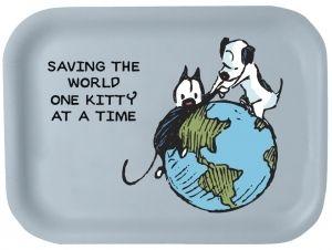 Kamut-tarjotin Saving the world