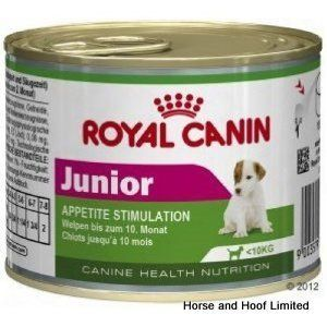 Royal Canin Junior Dog Food Tins 12 X 195g Dog Food Recipes