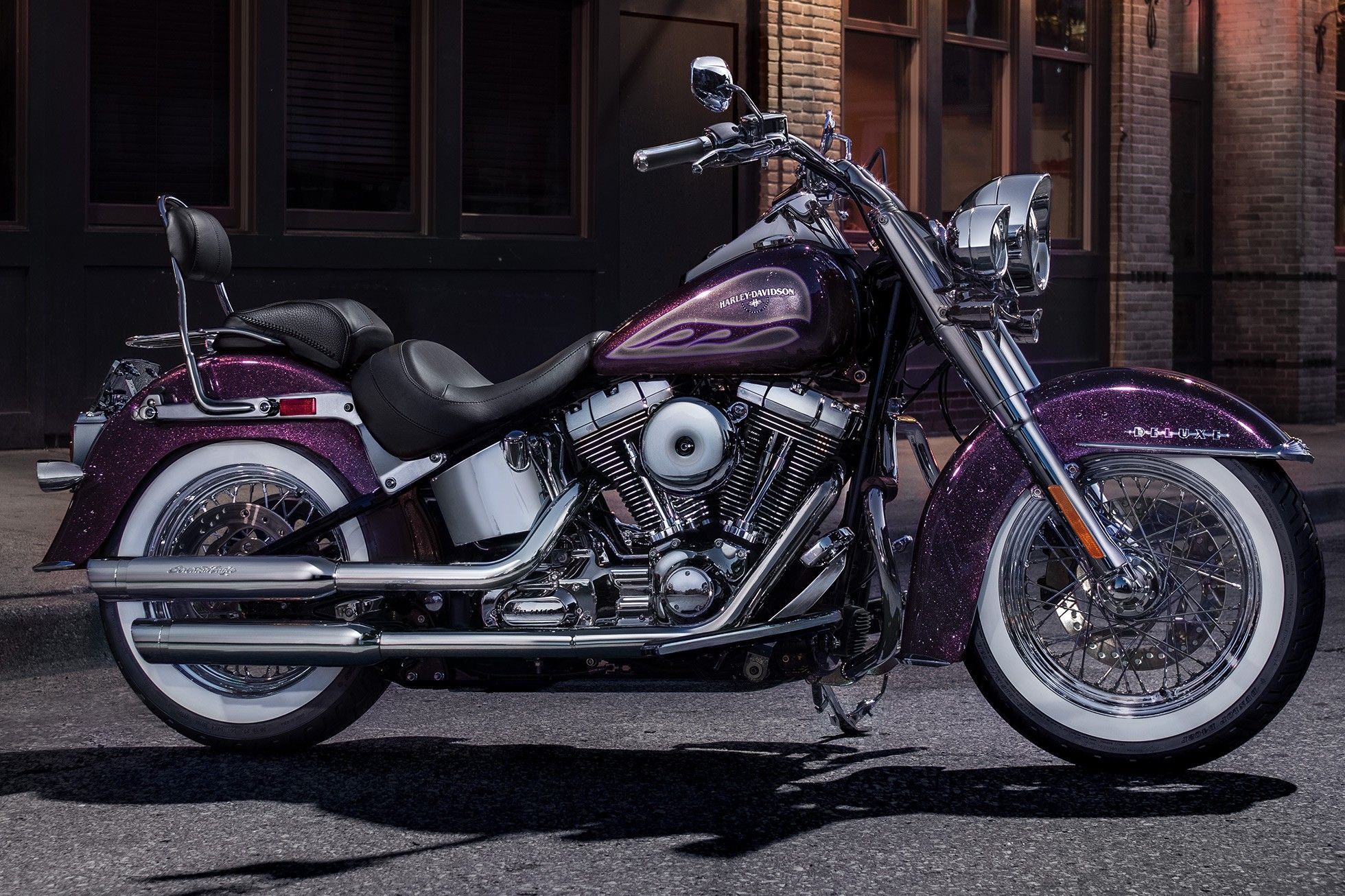 2017 Harley-Davidson Softail® Deluxe in Waterford, Michigan | Harley
