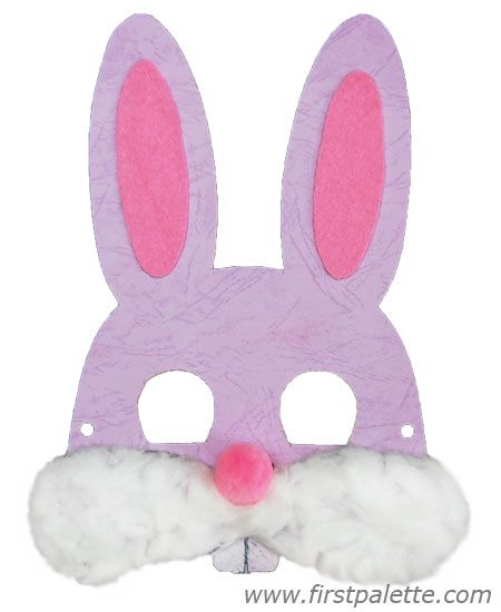 Printable Easter Bunny Nose Bunny Masks Printable Bunny Masks