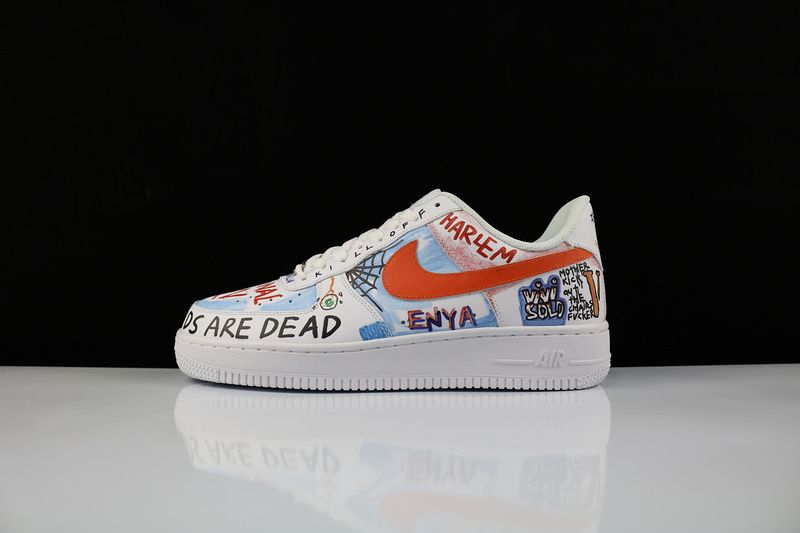 Shop Nike Air Force 1 AF1 Low White Graffiti 923088-100  ce8f697c6b
