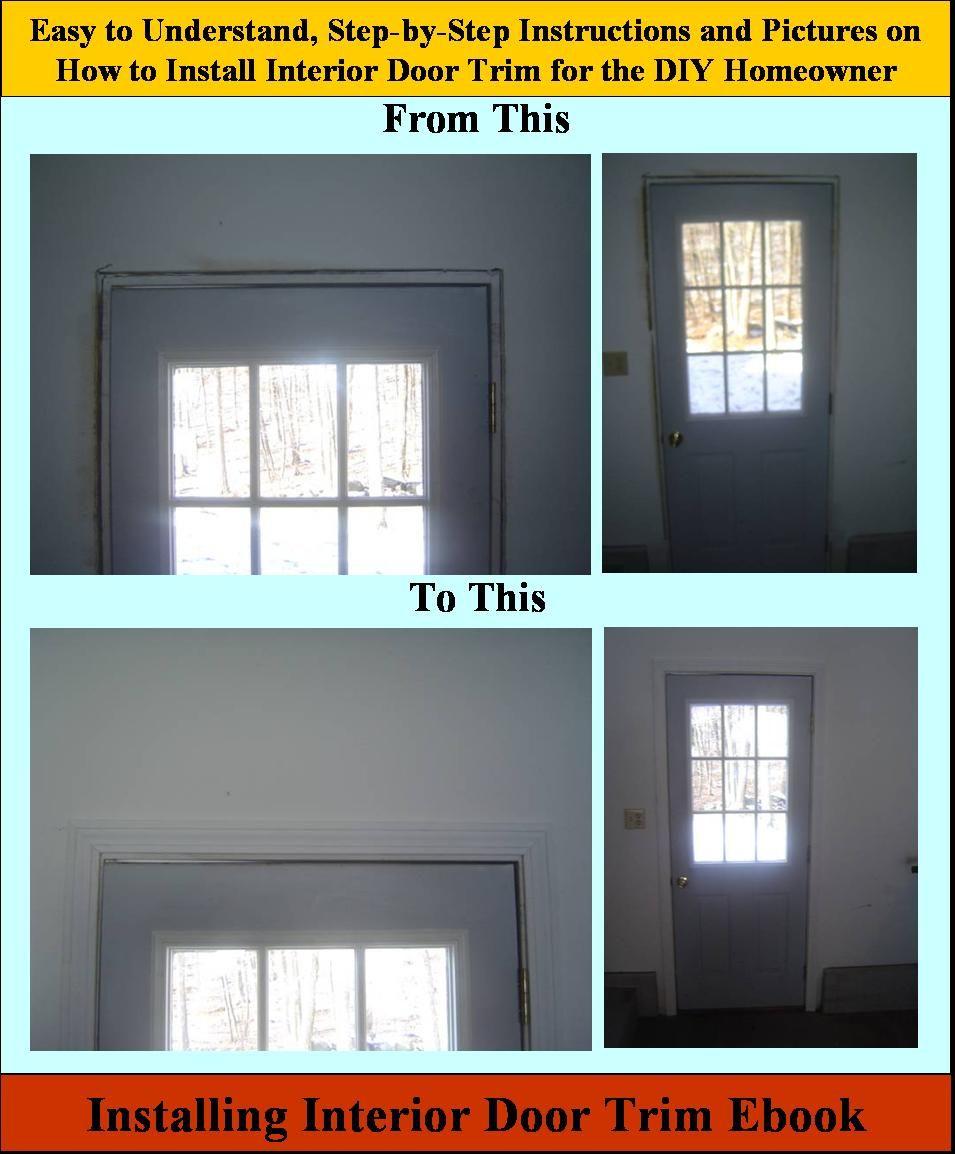 Replacing Door Trim : replacing, Installing, Interior, Ebook, Install, Trim,, Doors, Interior,, Front, Entry