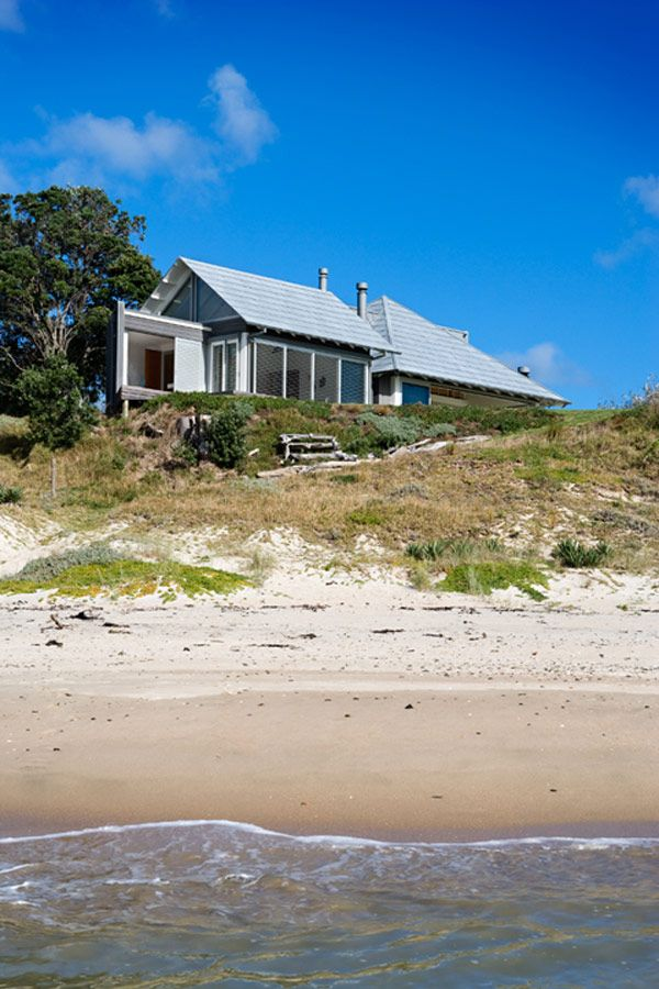 House At The Beach New Zealand Crosson Clarke Carnachan