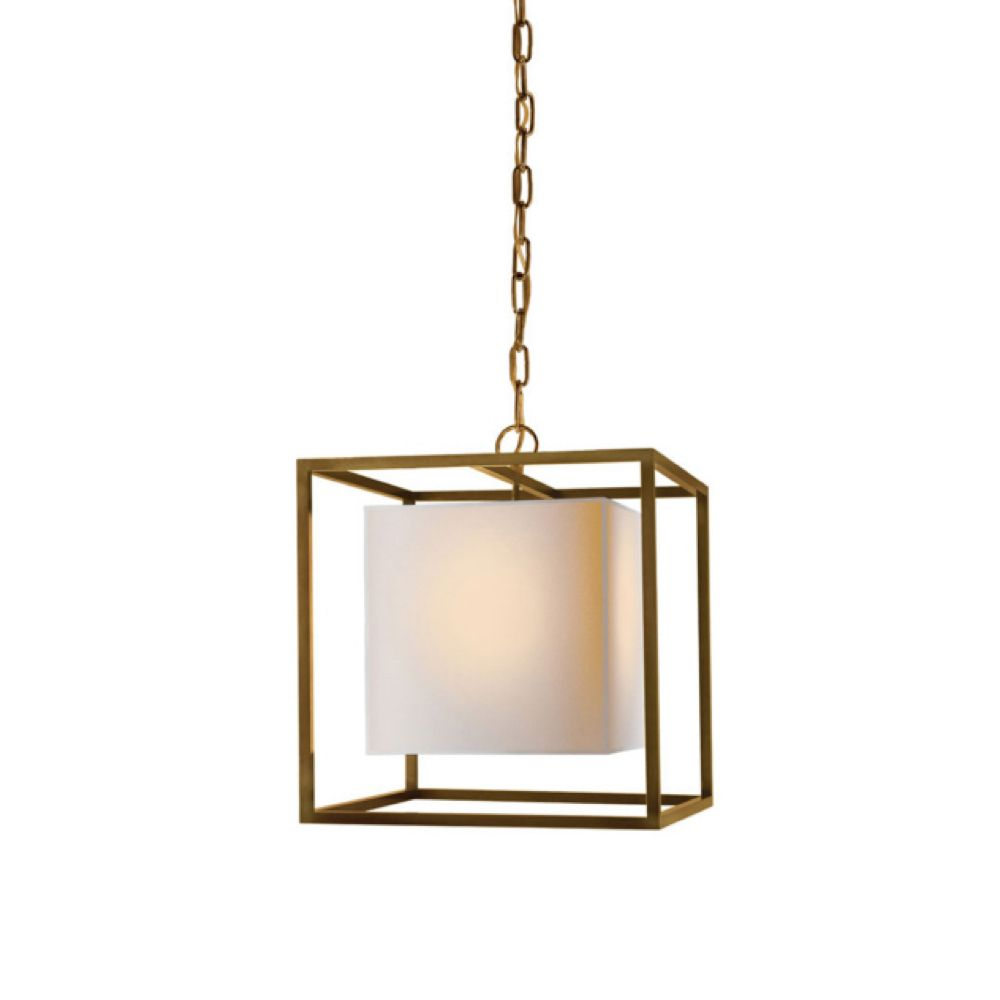 Visual comfort bronze pendant presented by kathryn greeley interior designer north carolina asheville nc